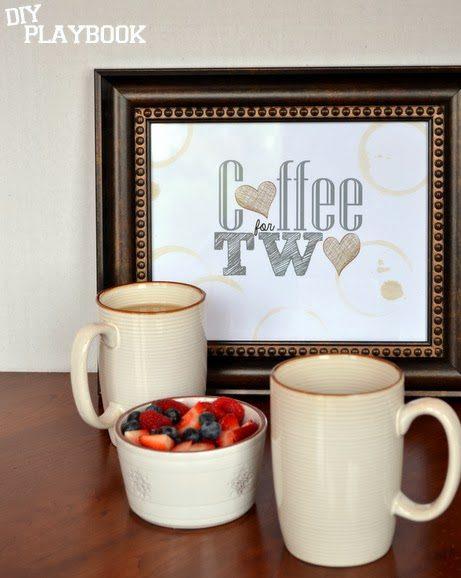 Wine and coffee decor