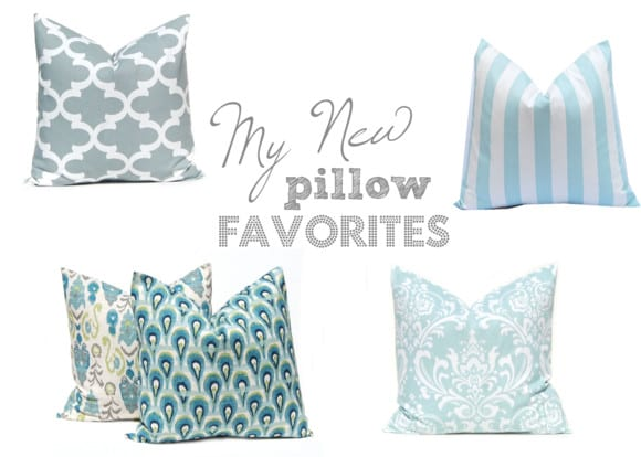 My New Pillow Favorites