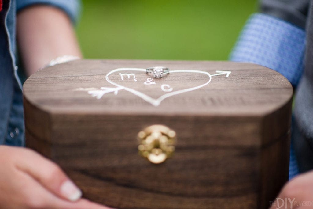 Box for love letters