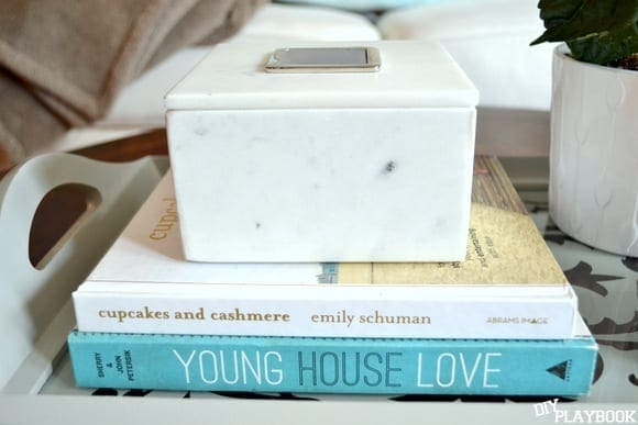 Coffee table books add character and charm to any space.