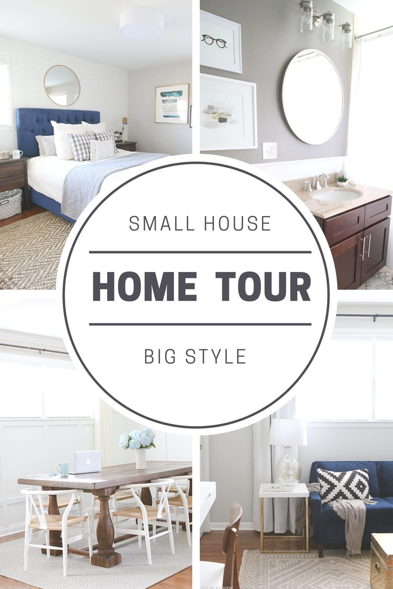 Small House Home Tour of Bridget's Fabulous Ranch House | DIY Playbook