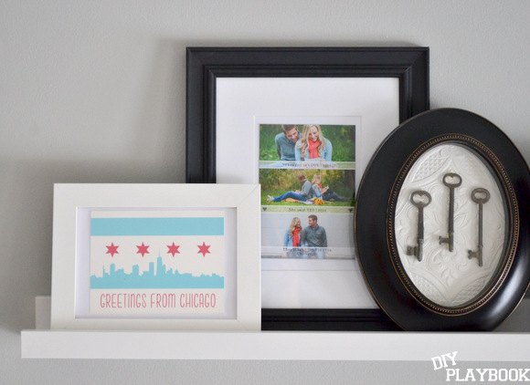 Save-The-Date-Framed