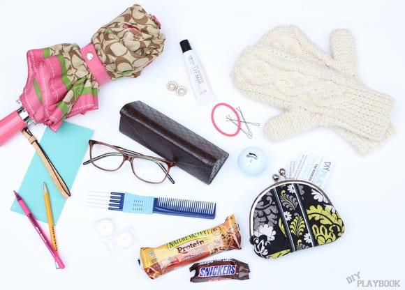 What Bridget keeps in her bag