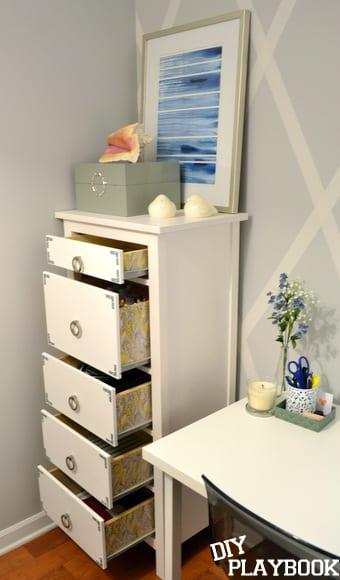 Ikea Dresser Patterned sides
