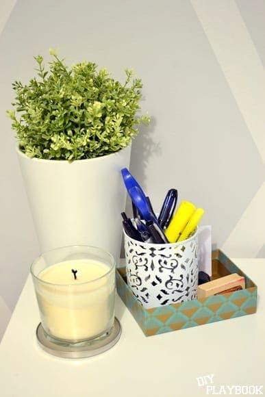 plant on desk