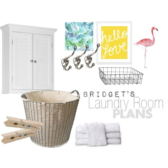 B's Laundry Room Plans