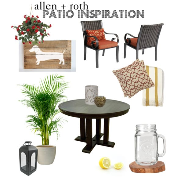 allen + roth patio inspiration