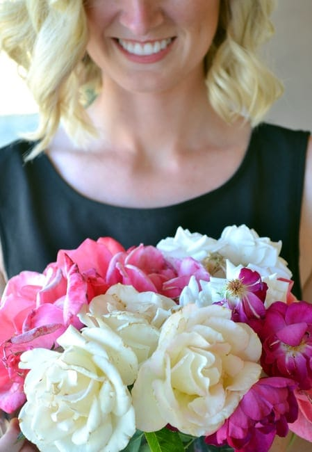 Bridget's MOH bouquet