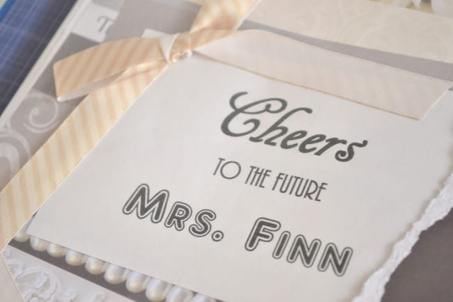 Cheers to the future Mrs. Finn!