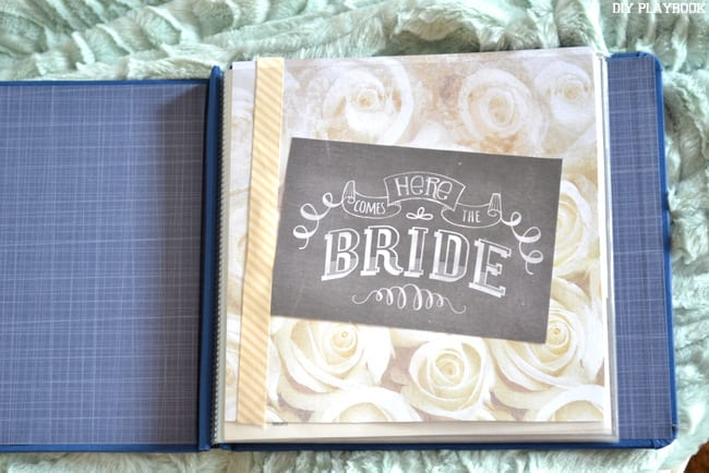 a marriage advice book is a perfect guest book idea for the bachelorette party