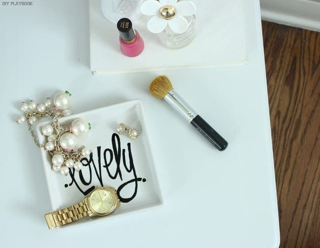 IKEA Jack Jewelry Tray: Easy and lovely | DIY Playbook