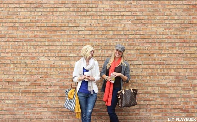The DIY Playbook Rookies Casey and Bridget Fall