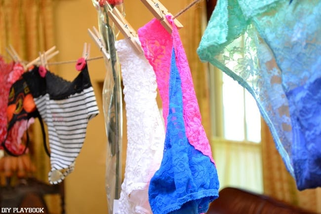 Panty-Clothesline