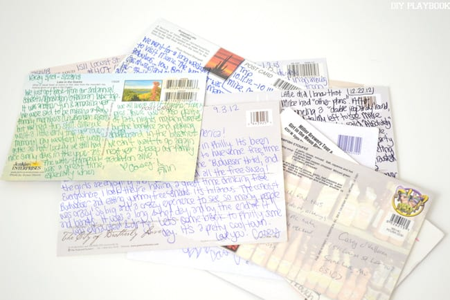Postcards are a fun idea for your new-home announcements!