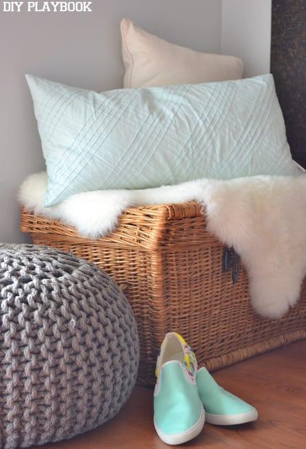 Shoes-Near-Basket