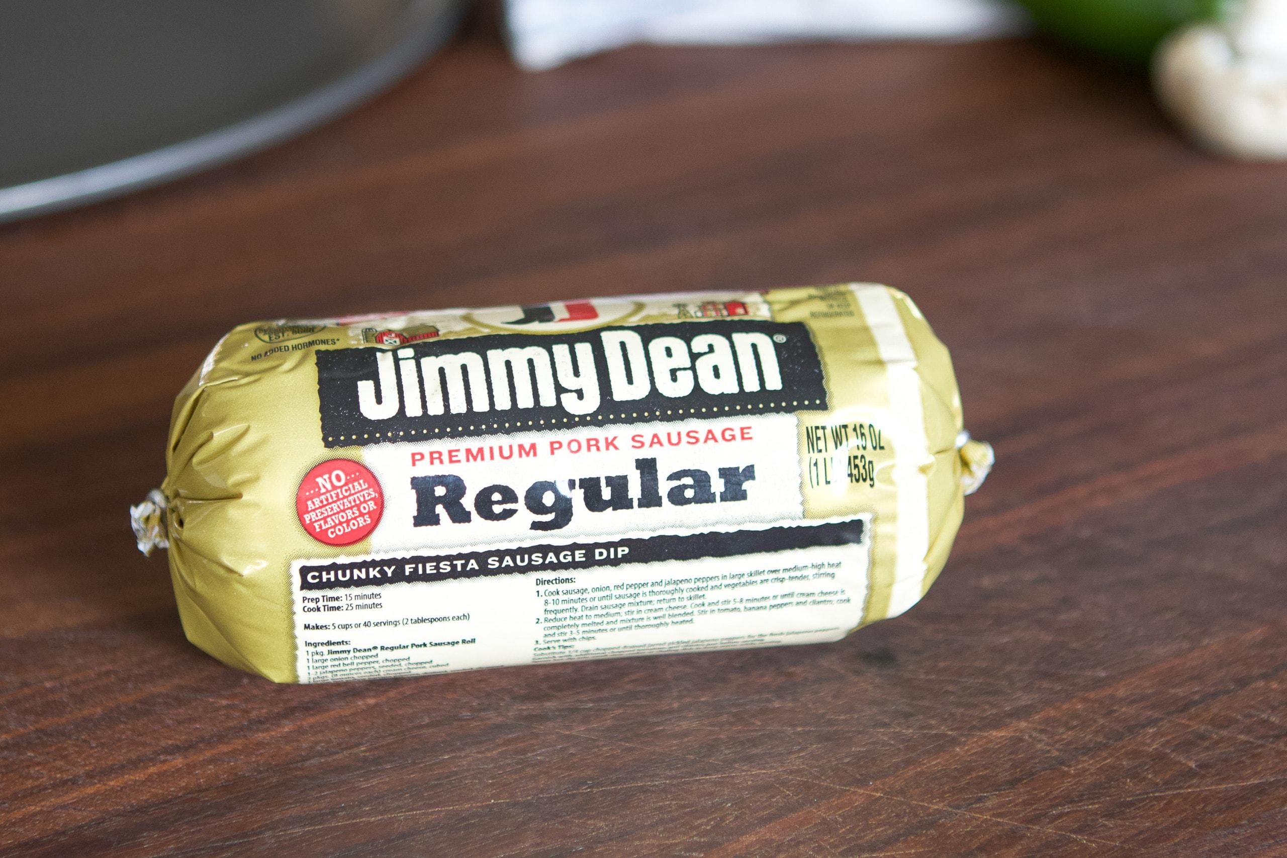 Jimmy Dean sausage roll