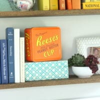 The small details in the book shelves is adorable.