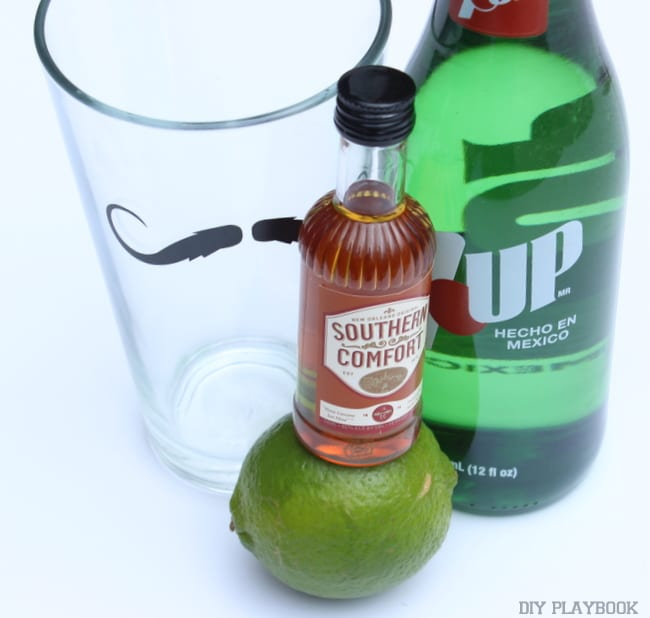 this easy mini cocktail kit is perfect for sweetest day
