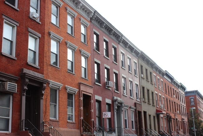 These NYC houses are colorful and one of a kind.