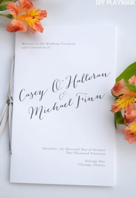 Wedding-Programs