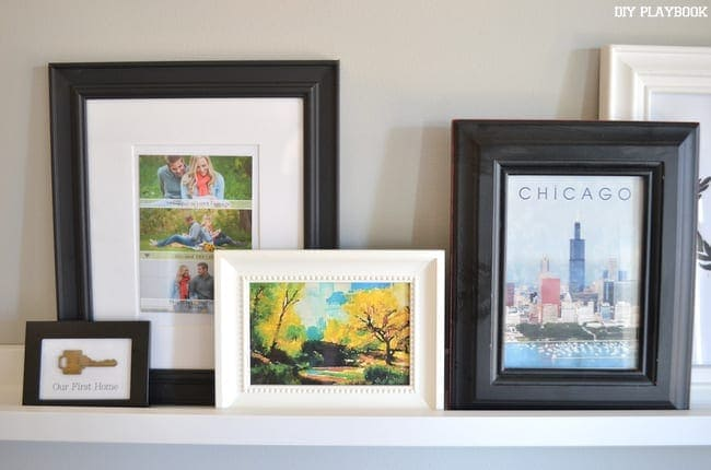 Central Park joins our gallery wall of special framed photos