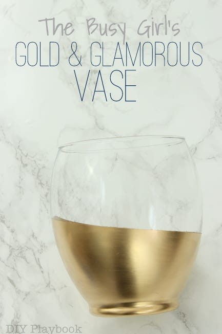 The Busy Girl's Gold Vase