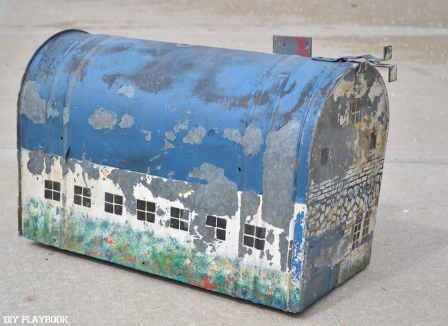 Painted-Mailbox