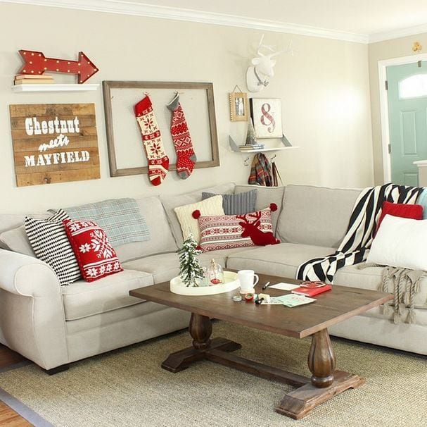 5christmas decor bridget house