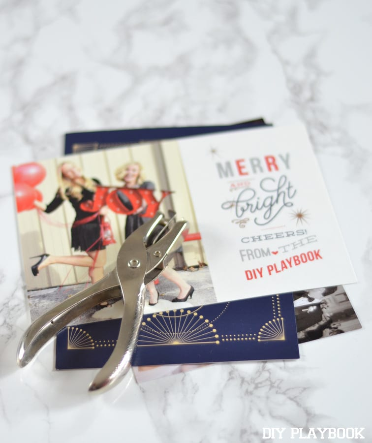 how to save your old christmas cards: a tutorial | DIY Playbook