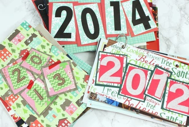 how to save your christmas cards: Christmas Card Collection | DIY Playbook