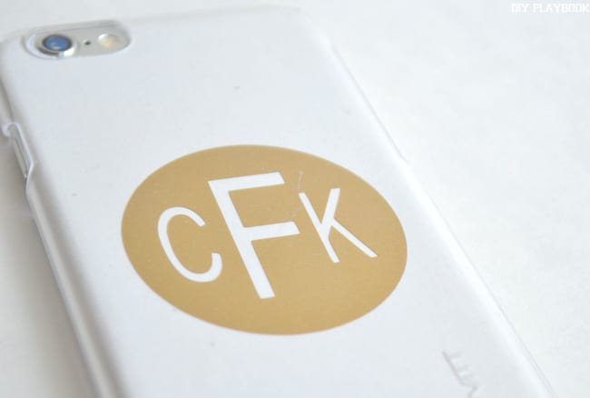 Monogram-Phone-Case