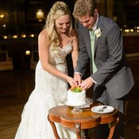 Cutting the cake as husband and wife is important.