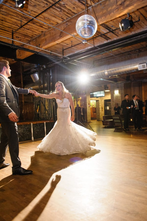 This first dance between husband and wife is beautiful.