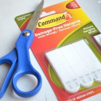 3M Command Strips for hanging