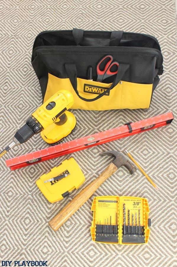 tool bag organization