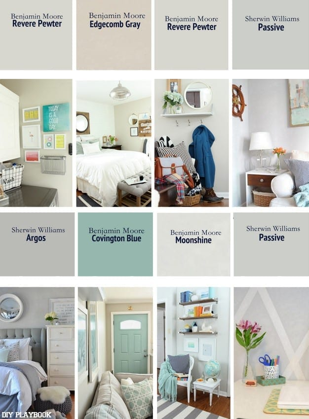 A list of the best neutral paint colors for our homes - Benjamin moore exterior paint color chart ...