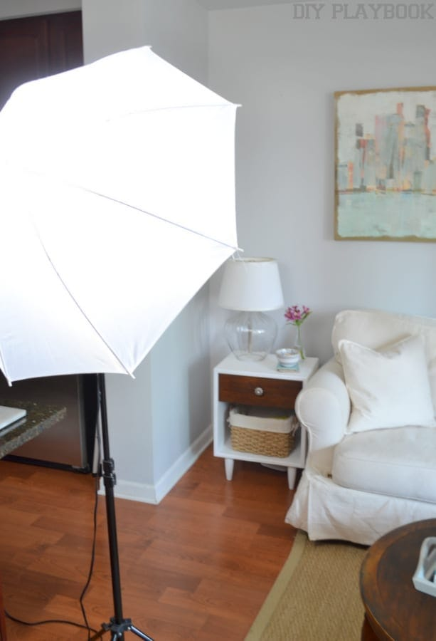 Light Kit: How to Take Better Photos for your Blog | DIY Playbook