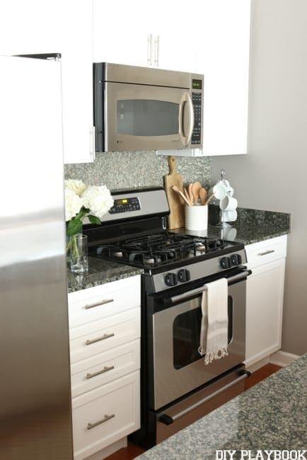 Maggie kitchen after