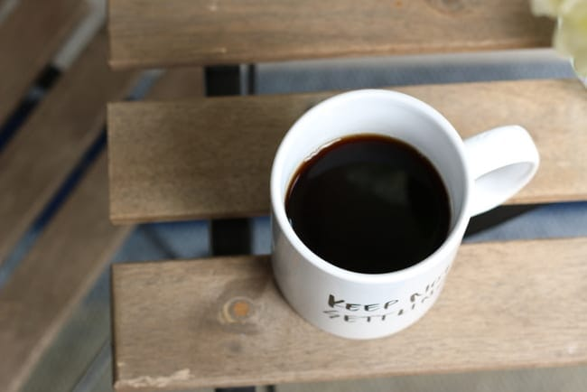 A mug of plain black coffee is the morning fuel that so many people need.