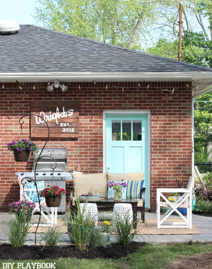 Lowes Spring Makeover Patio Reveal