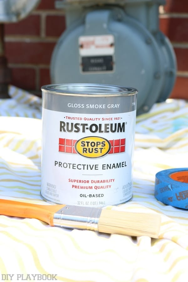 Rustoleum paint for meters