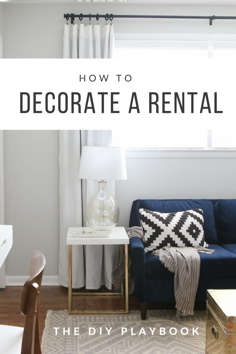 Decorate A Rental Amusing How To Decorate A Rental Apartment To Add Personality Inspiration Design