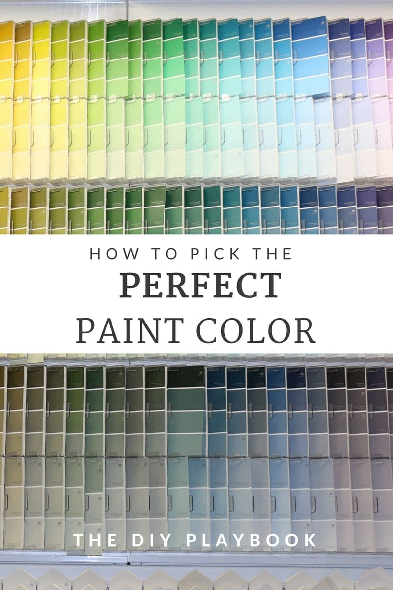 How to pick the perfect Paint Color: Tutorial | DIY Playbook
