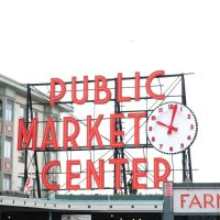 At the Seattle Pike's Place Market.
