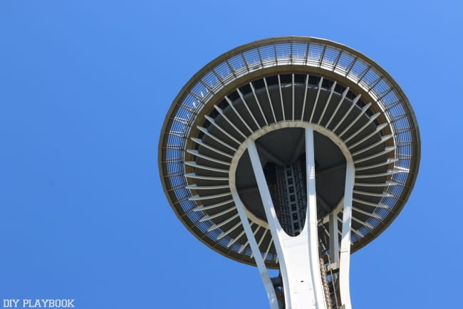 Seattle Weekend Recap: What's a trip to Seattle without a visit to the space needle?