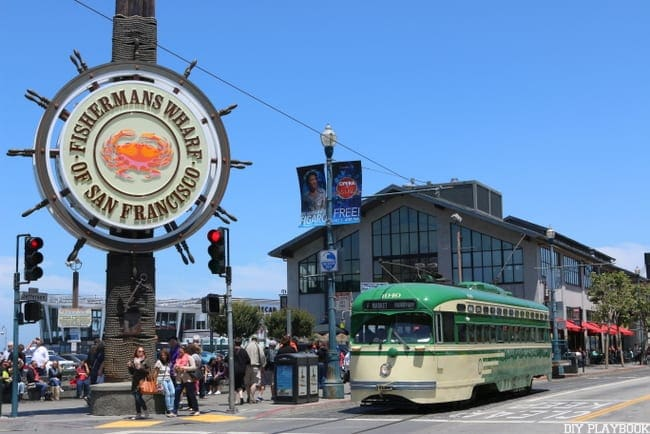 Don't miss Fisherman's Wharf