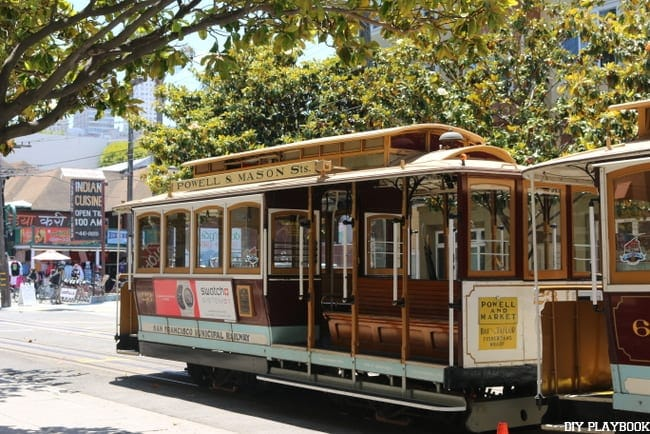 A trolley ride is a quintessential San Francisco to do item