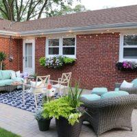 patio landscaping backyard
