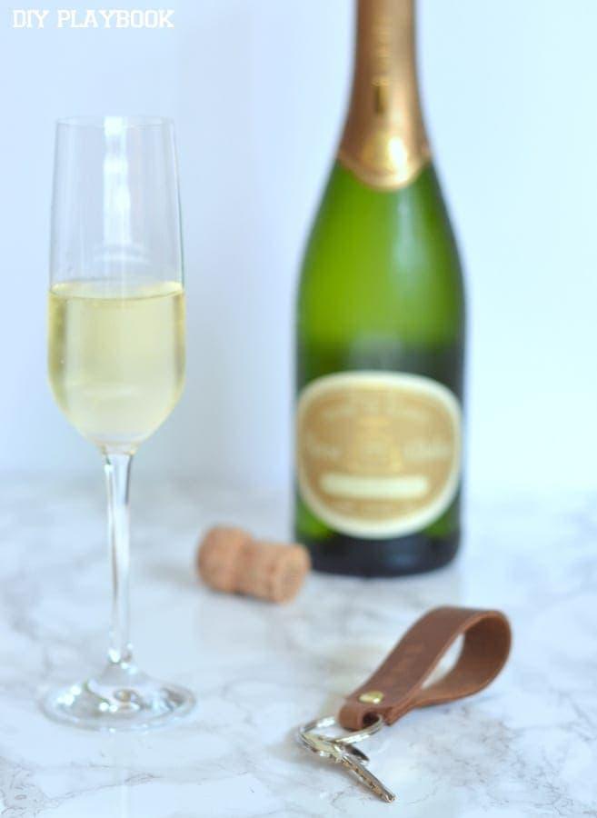 Champagne-New-House-key