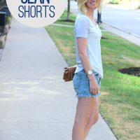Bridget jean shorts summer